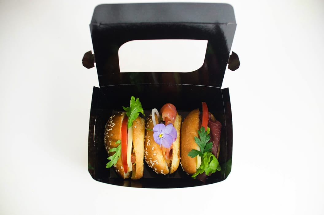 Take Away Mini Burger Odelis