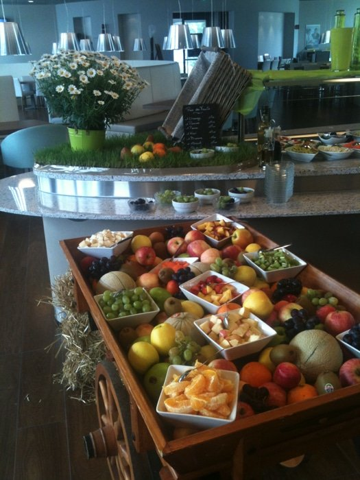 VIP event odelis buffet fruits legumes